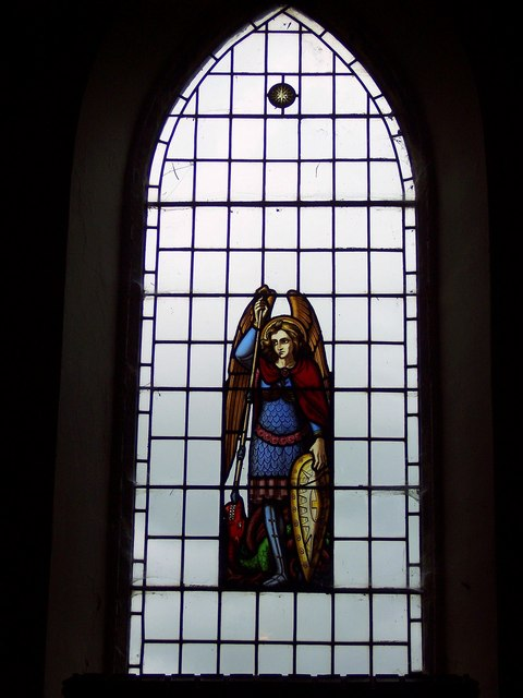 The Church of the Holy Epiphany, Butterwick - Stained Glass Window
