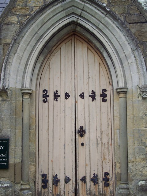 The Church of the Holy Epiphany, Butterwick - Door