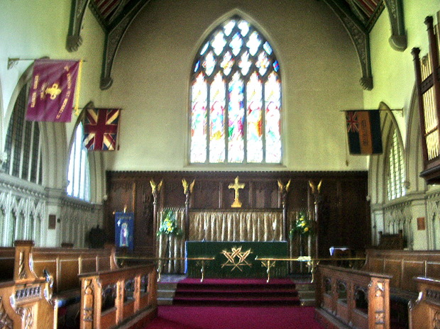 Altar, The Parish Church of St Michael, Kirkham