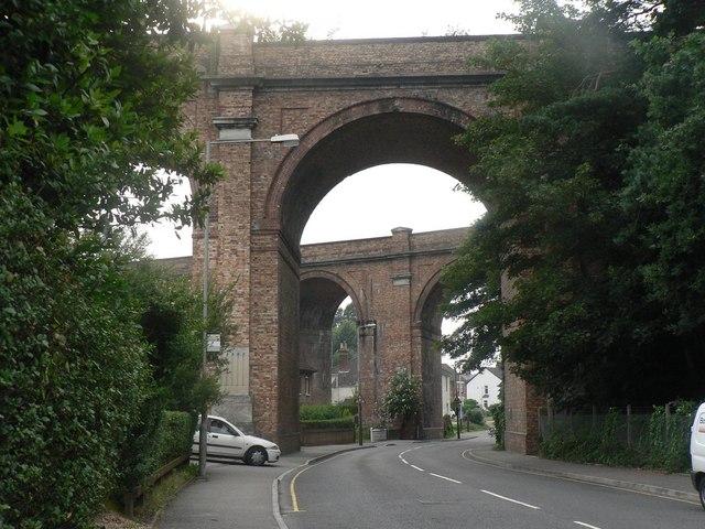 Branksome: double viaduct