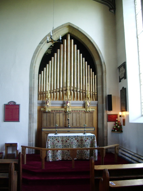 Altar, The Parish Church of St Michael, Kirkham