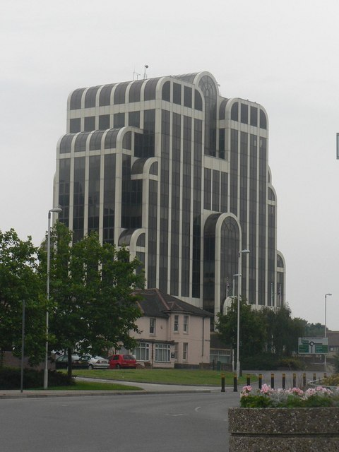 Bournemouth: shapely office block