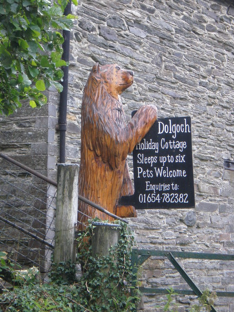 Bear right for Holiday Cottage