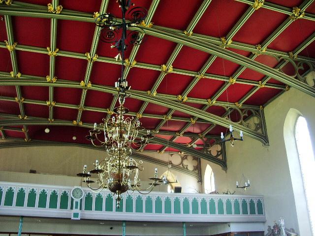 Interior of The Parish Church of St Michael, Kirkham
