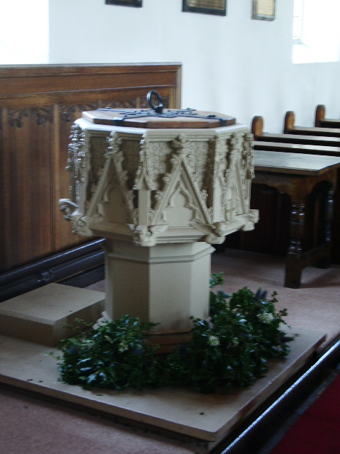 Font, The Parish Church of St Michael, Kirkham