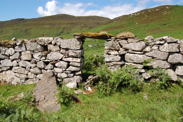 Ruins at Boreraig