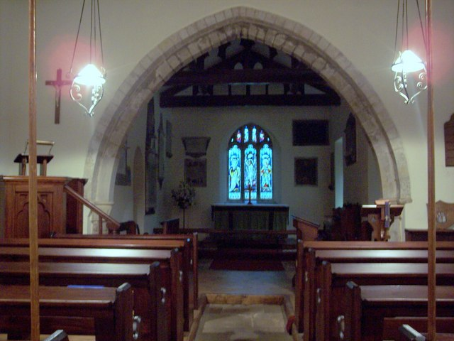 All Saints Church, Hawnby - Interior
