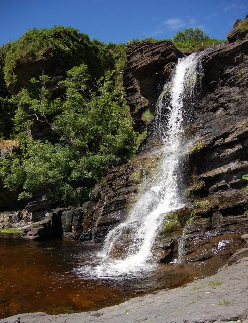 Allt na Peighinn waterfall