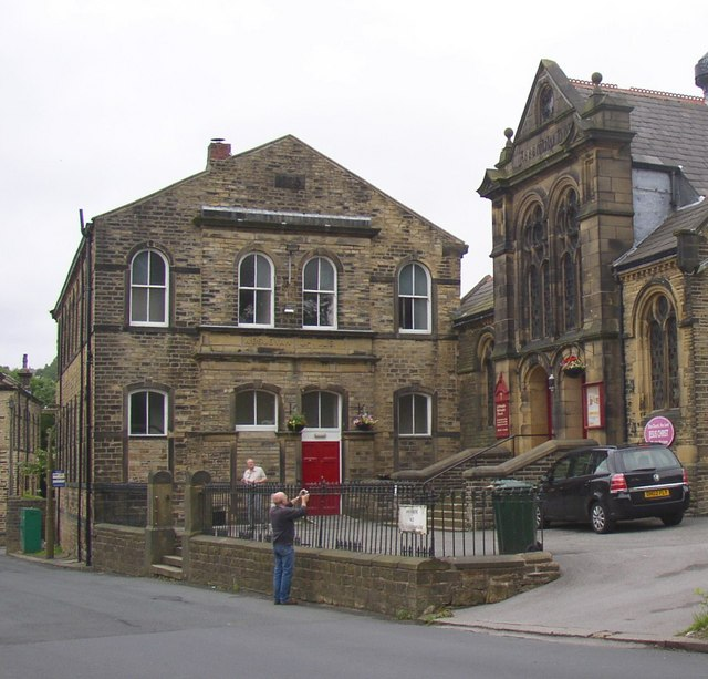 Methodist Sunday School, south end, Linthwaite
