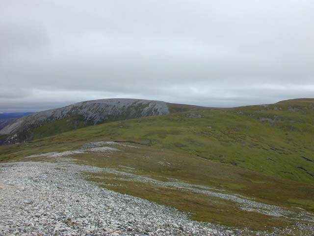 East from Geal Charn