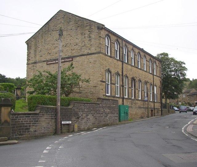Methodist Sunday School, north end, Linthwaite