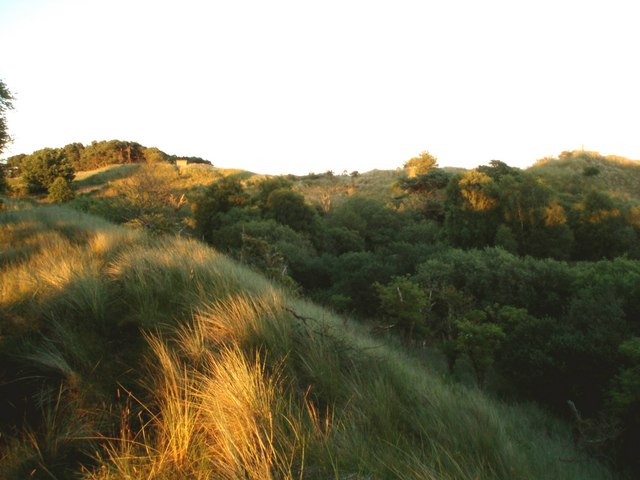 Sand dunes, Barry Ridge