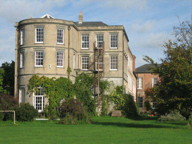 Old Hall south facade