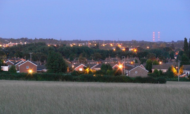 Ferndale at dusk