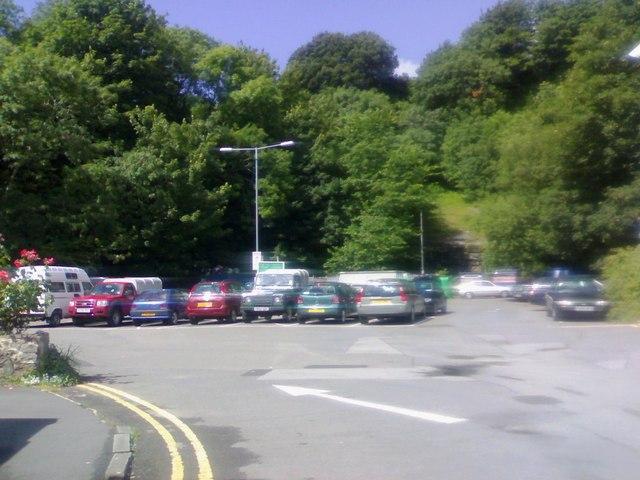 Quarry car park