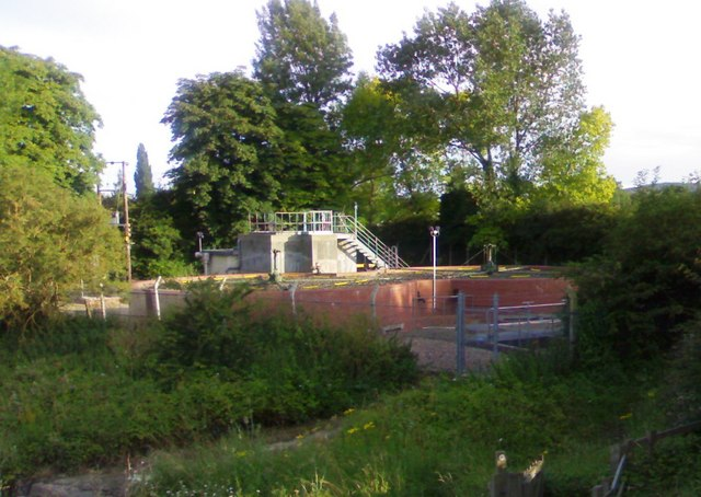 Sedgeberrow sewage treatment works