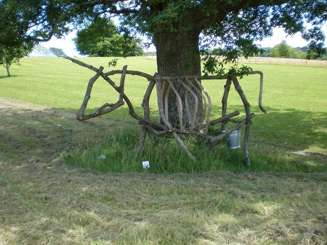 Cow Sculpture.