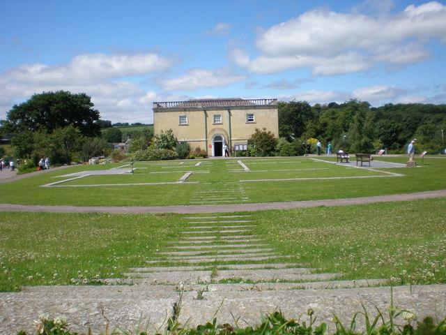 Principality House & site plan of Middleton Hall.