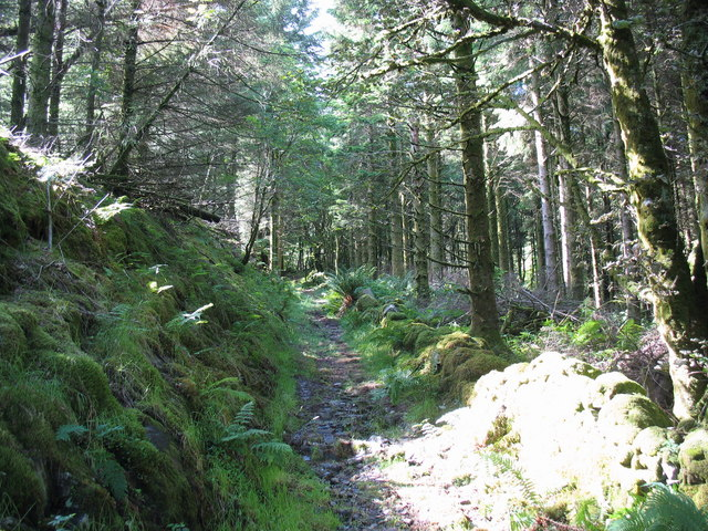 The Penmaen path