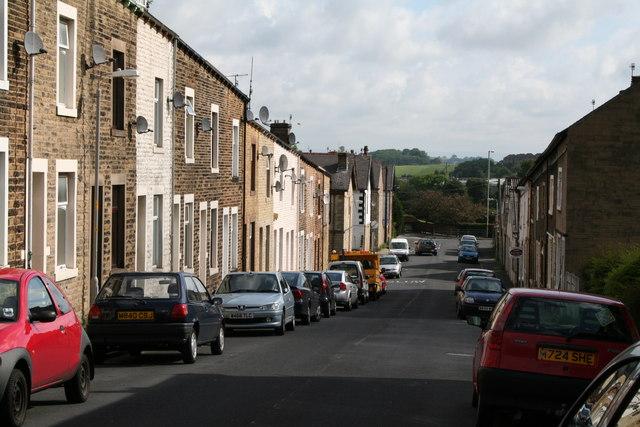 Gisburn Street, Barnoldswick, Yorkshire