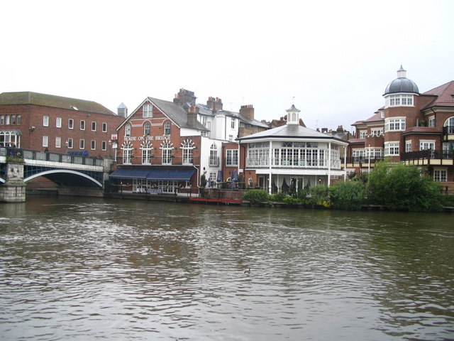 The House on the Bridge restaurant, Windsor