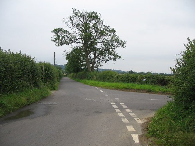 Junction with Shaftesbury Lane
