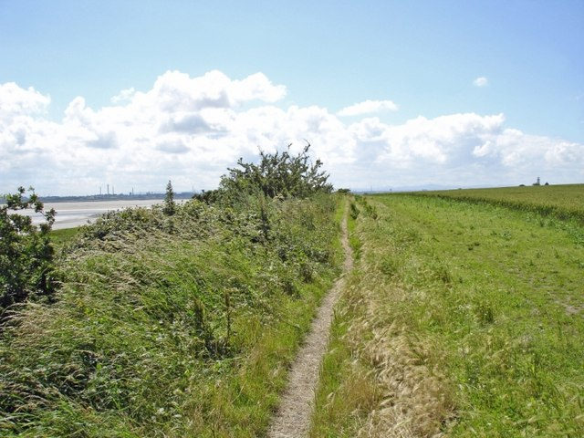 Mersey Way at Small Ends, Hale