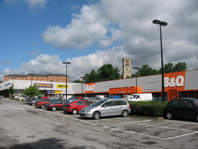 Crostons Retail Park Bury