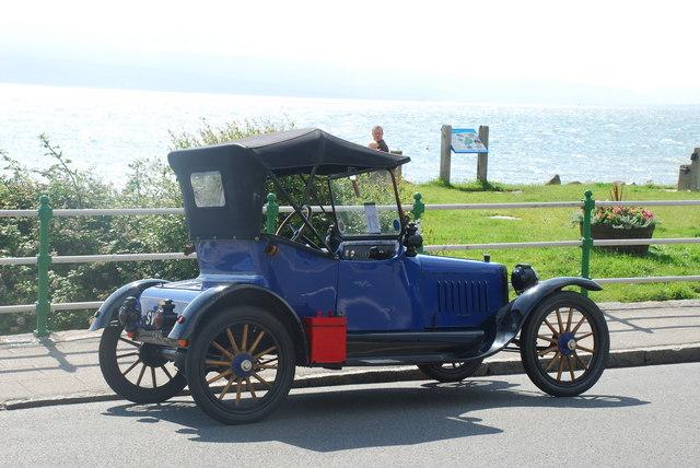 1916 Saxon - Criccieth
