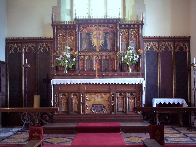 St Oswalds Church, Oswaldkirk - Interior