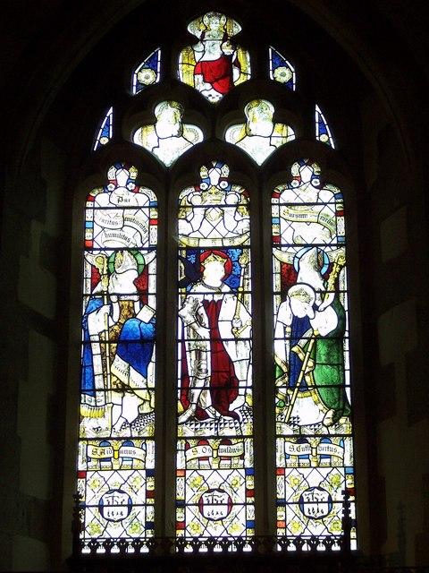 St Oswalds Church, Oswaldkirk - Stained Glass Window