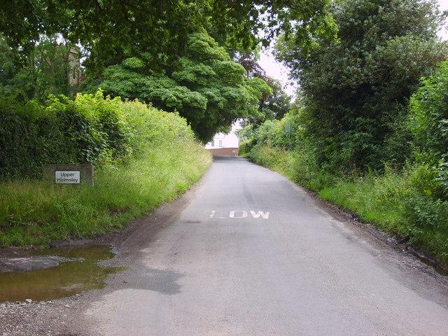 Road to Upper Helmsley