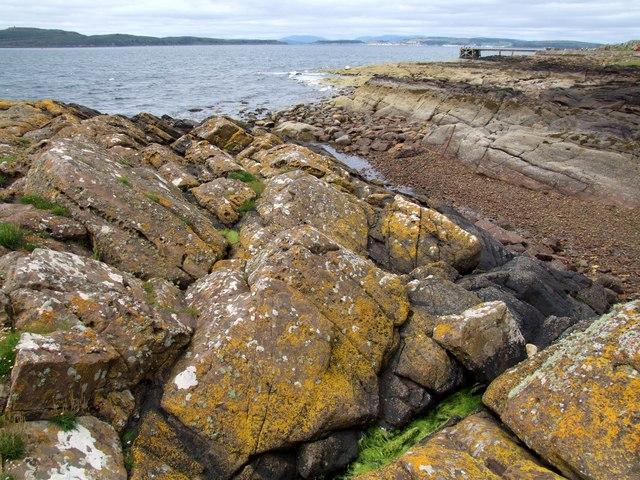 Rock Formation, Portencross