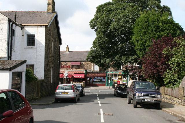 Gisburn Road from Edmondson Street, Barnoldswick