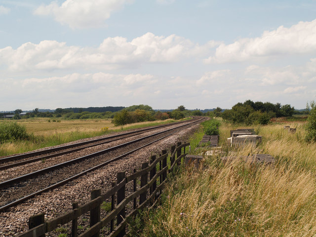 The Rail Line to Scunthorpe