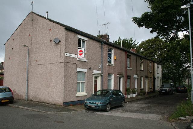 Healey Street, Rochdale, Lancashire