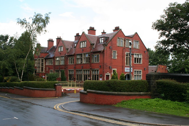 Former nurses' home, Sparrow Hill, Rochdale