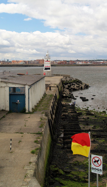 Hartlepool old pier Lighthouse.