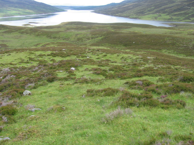 Above the head of Loch Errochty