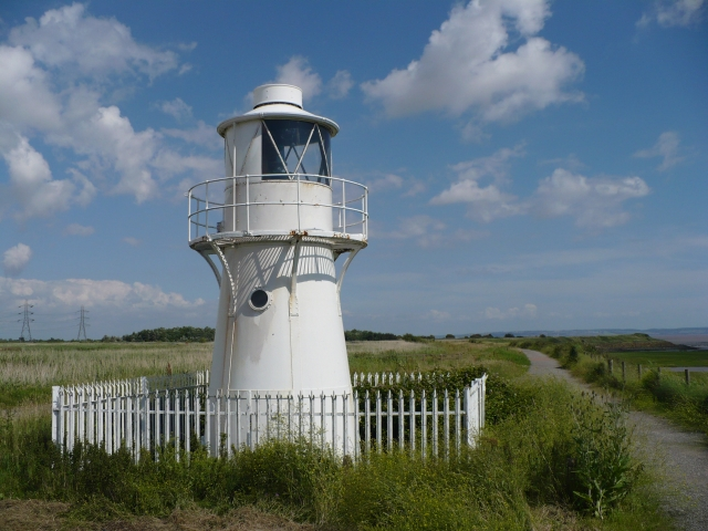Newport Wetlands, East Usk Lighthouse