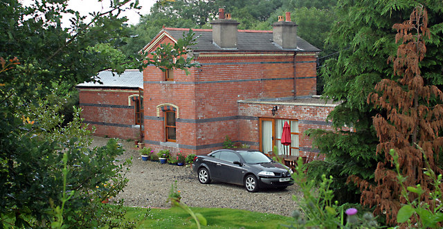 Aghadowey Railway Station.