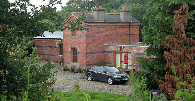Aghadowey Railway Station.