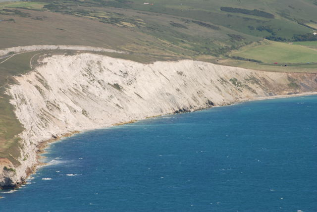 Cliffs over Compton Bay