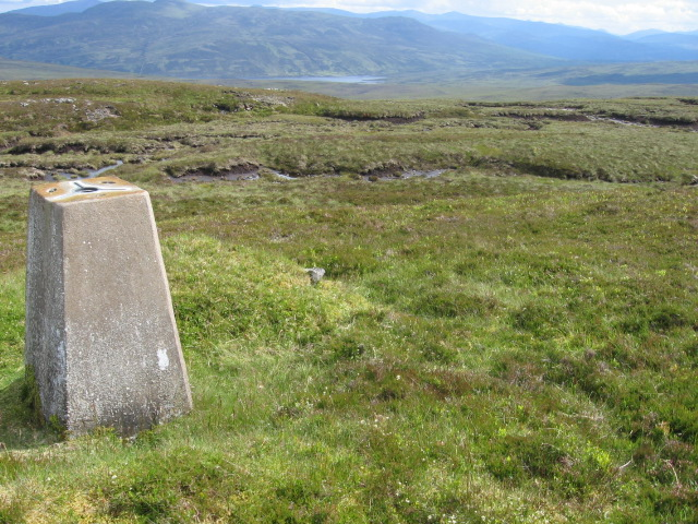 Meall Breac trig point S9402