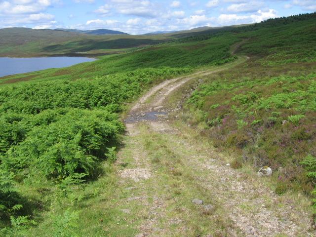 Track by Loch Errochty