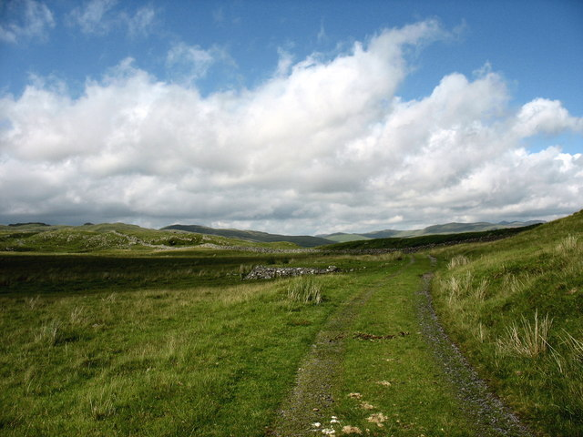 Open plateau land