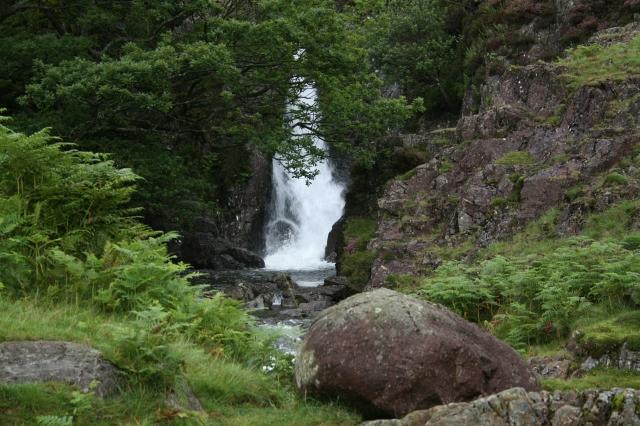Waterfall in Upper Eskdale.