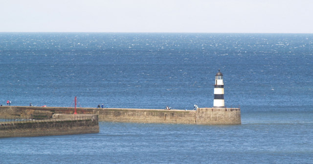 Seaham harbour lighthouse.