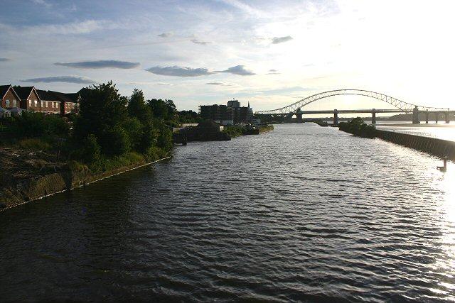 Manchester Ship Canal at Runcorn