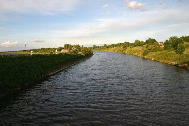 Manchester Ship Canal at Halton